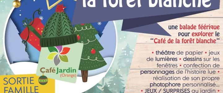 A PAS FEUTRES VERS LA FORET BLANCHE – samedi 15 décembre