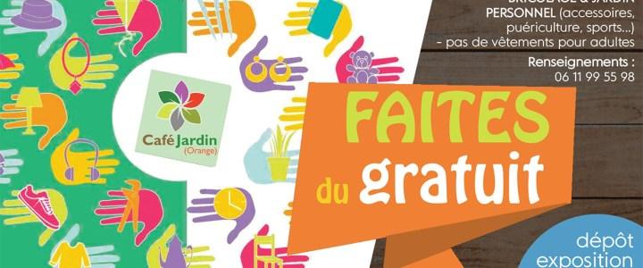 «FAITES DU GRATUIT» – dimanche 19 mai