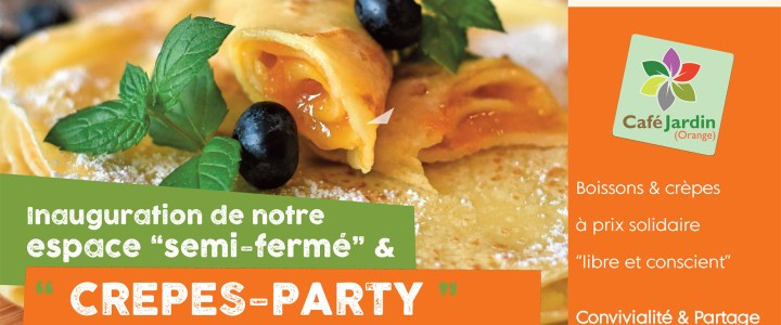 Inauguration & Crepes Party