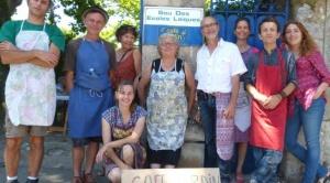 L'équipe du Café Jardin