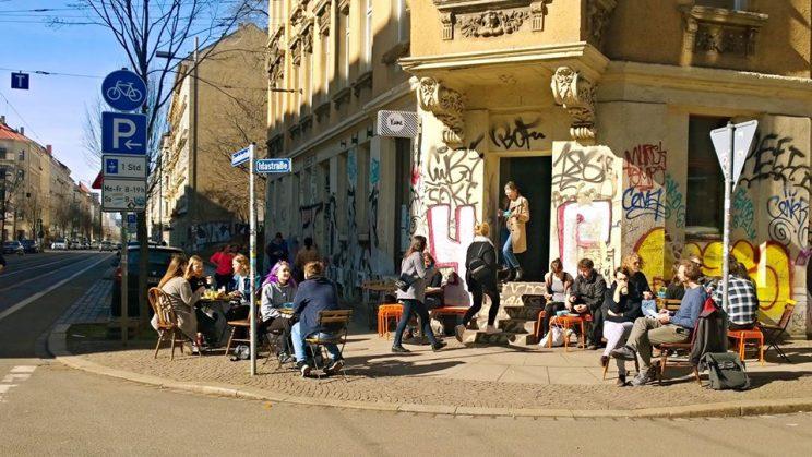 Café Kune, Eisenbahnstraße Leipzig