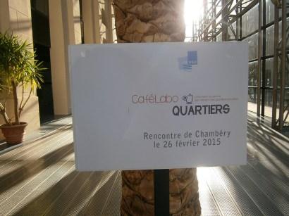 Accueil au centre de congrès Le Manège