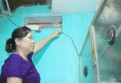 Đà Nẵng: Bất an trong những ngôi nhà nứt