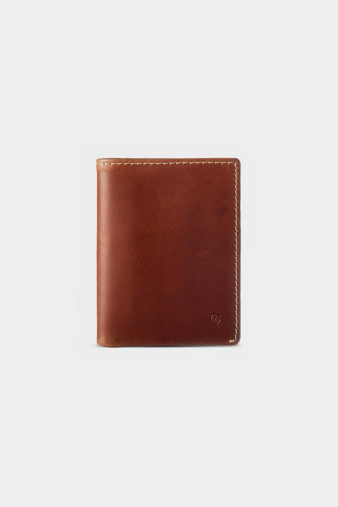 leather wallet slim for coins and bills