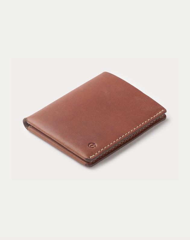 eb0cb607111a Ultra Slim Leather Wallet Jamaica Roasted