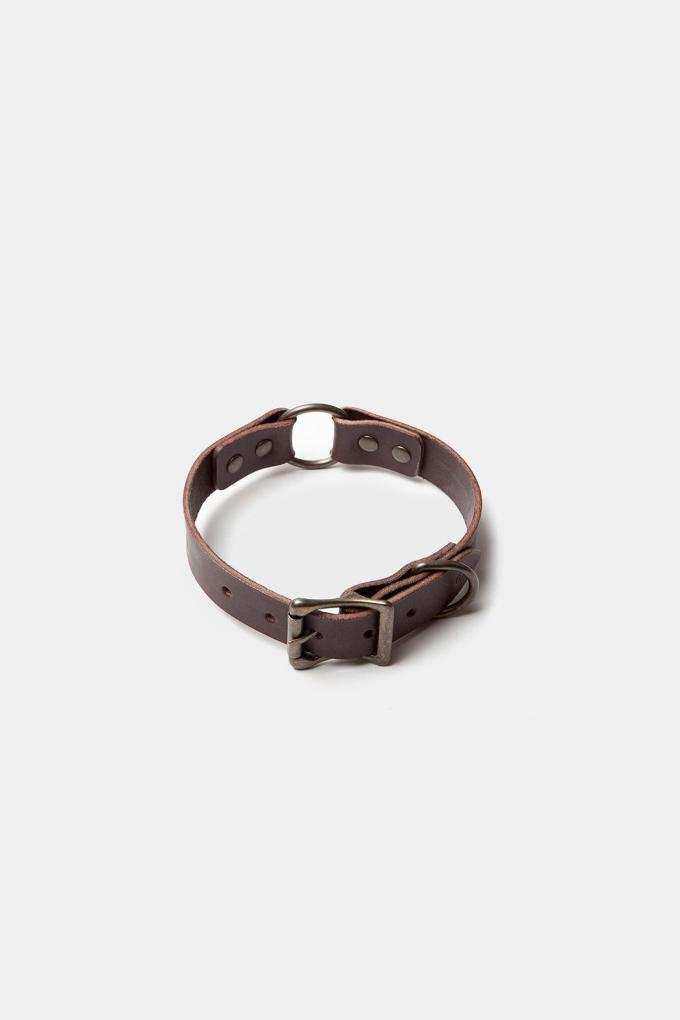 Dog Collar Dark Brown