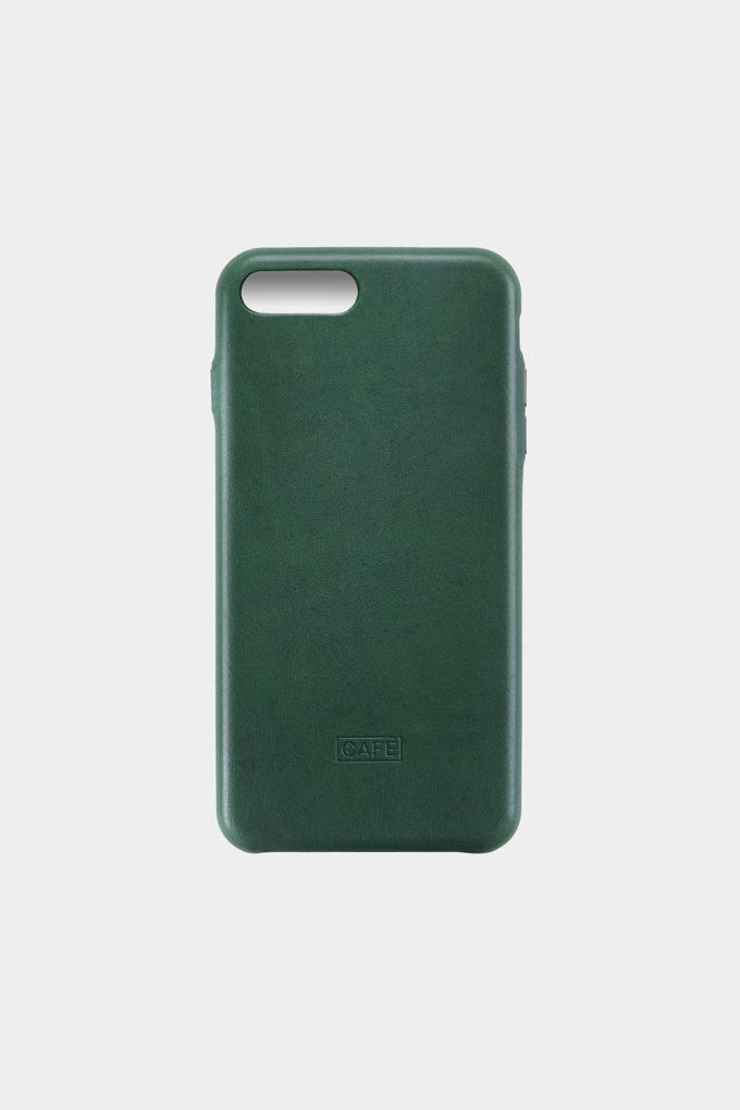 iphone 8 plus leather case green