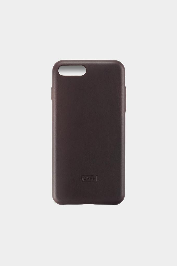 iphone 8 plus leather case black