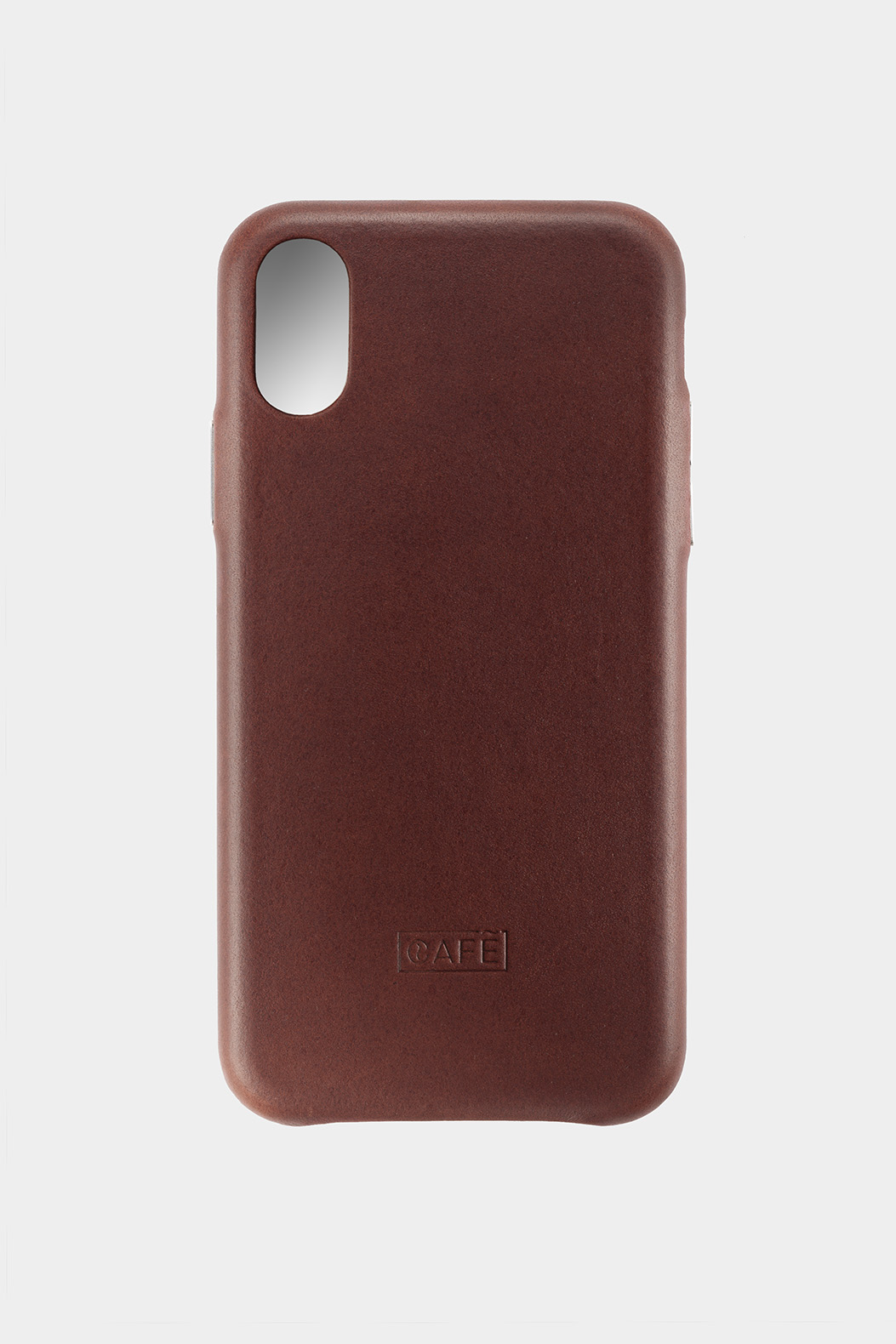 the latest aab98 e4a7c iPhone X / Xs Leather Case Brown | Café Leather
