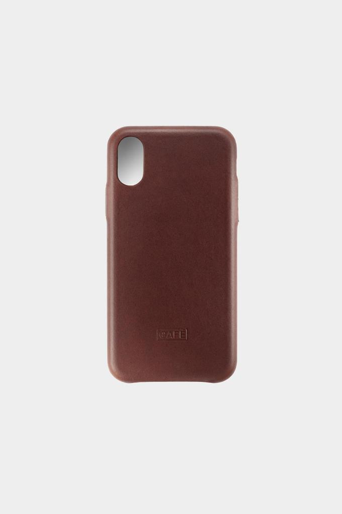 iphone X case brown