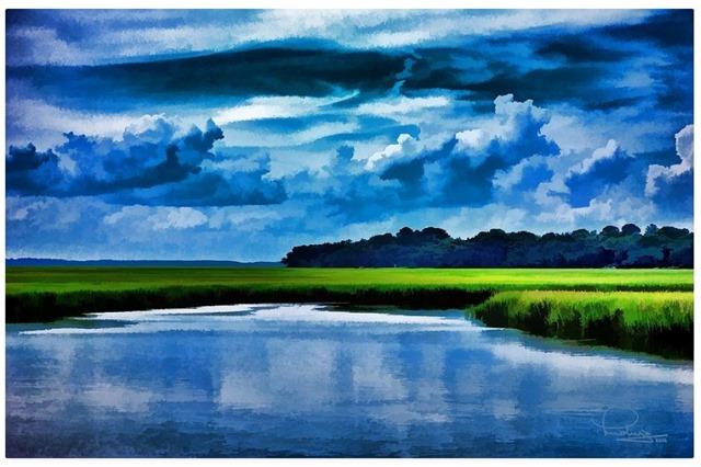 Evening on the Marsh