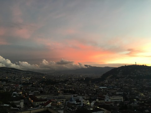 restaurantes en Quito - vista desde cafe Mosaico