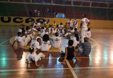 Aulão de Capoeira em Elói Mendes