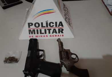 SUSPEITO DE HOMICÍDIO É PRESO PELA POLÍCIA MILITAR E ARMA DE FOGO É LOCALIZADA