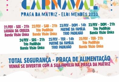 Carnaval 2020 em Elói Mendes