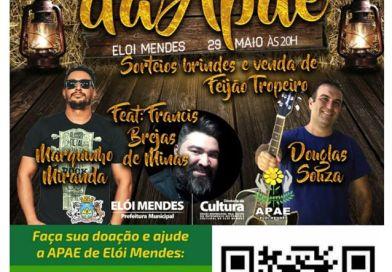 Quermesse da APAE Elói Mendes será nesta sexta-feira (29)
