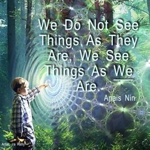 all in our perception