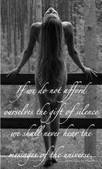 gift of silence