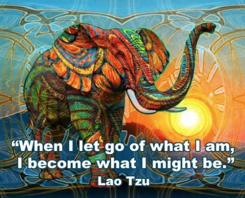 let go to become