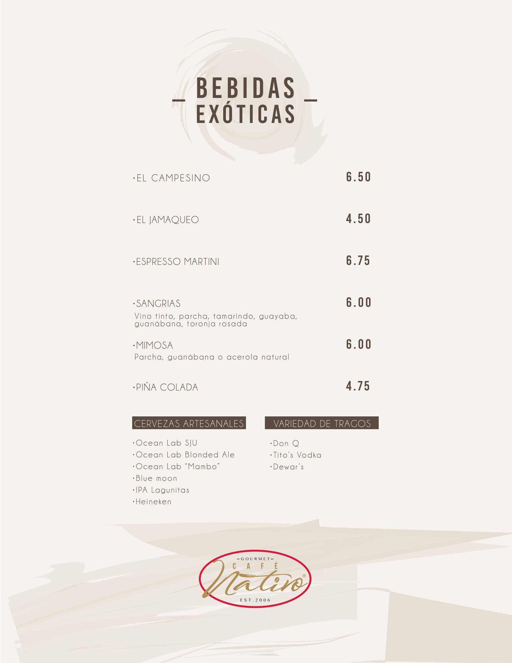 nativo menu Bebidas (español)web v2-1