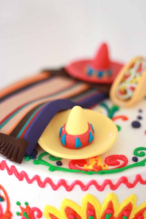 Mexican Theme Sweet 16 Cake Blog Cafe Pierrot
