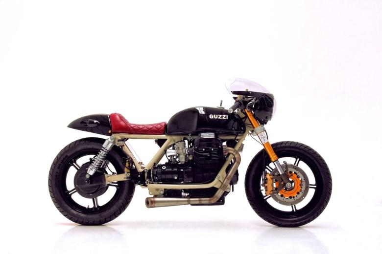 Moto Guzzi by Herencia Custom Garage