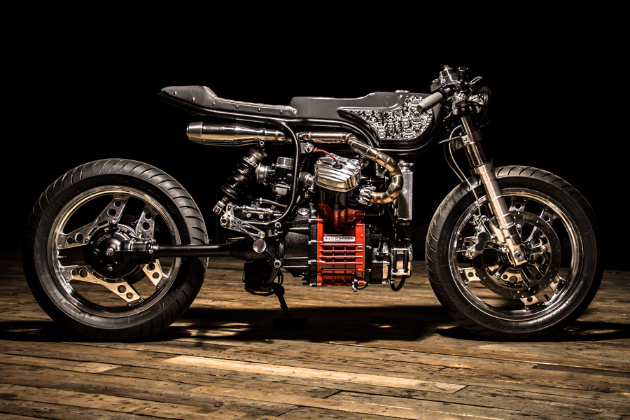"""CX 500 """"Japan Style"""" from Ed Turner Motorcycles"""