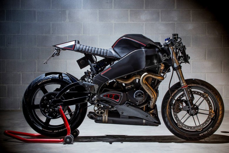 Buell XB9 Cafe racer from Iron Pirate Garage