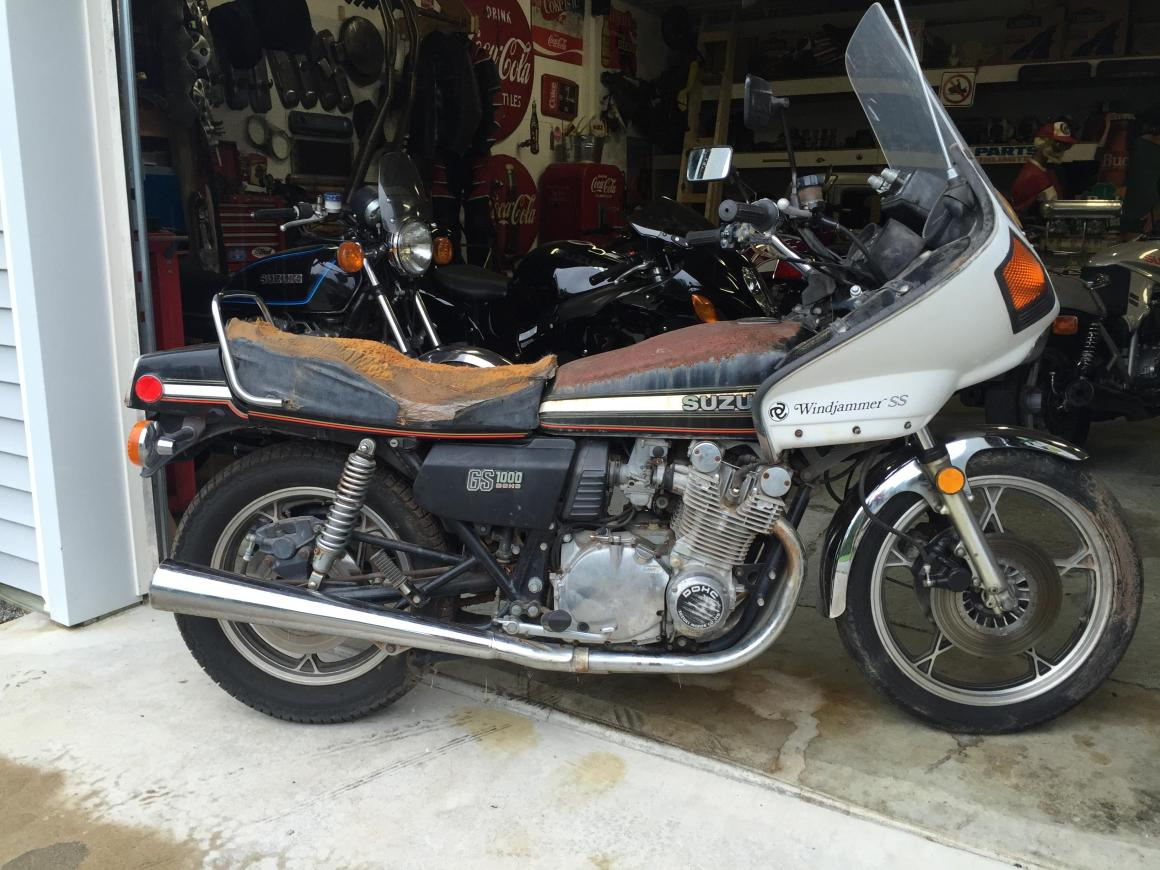 "1978 Suzuki GS1000E ""Left for dead"" by Randy Wedge"