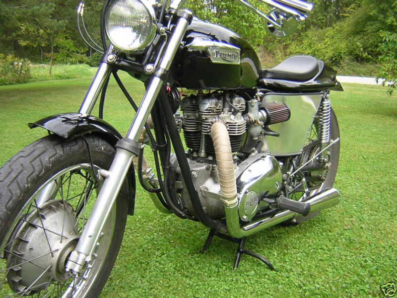 Triumph T120 1971 Street Tracker 05