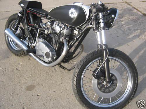 Yamaha XS650 1981 Cafe Racer 01