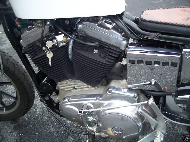 Harley Sportster 1989 Cafe Racer 0015