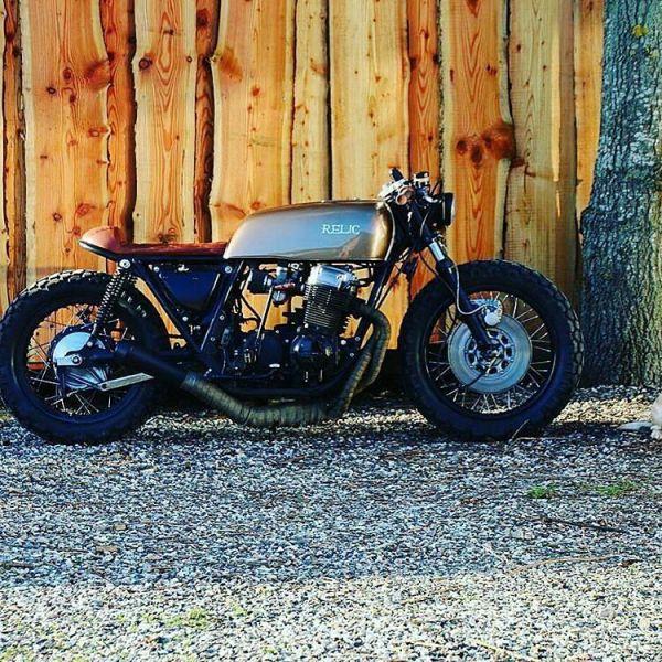 By @jsabster - The Cowboy & The Mascot ☠ . #mascot #caferacer #caferacers #caferacersofinstagram #caferacersculture #caferacerbuilds #vintage #vintagestyle #vintagefashion #motocycle #moto #motos #motorcycles #oldstyle #oldschool #bratstyle #motorbike #motor #helmet