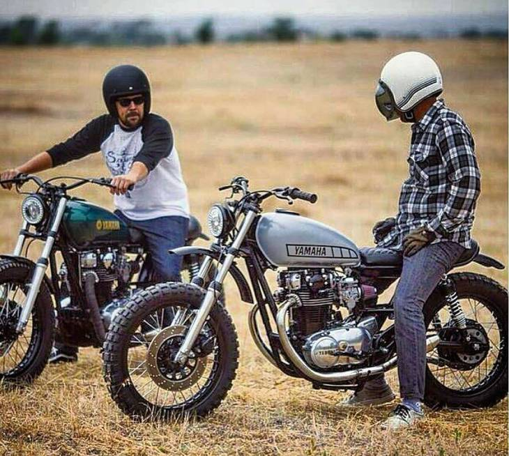 Style & Ride - Yamaha XS650 by therapy garage @therapygarage @nathancolwell