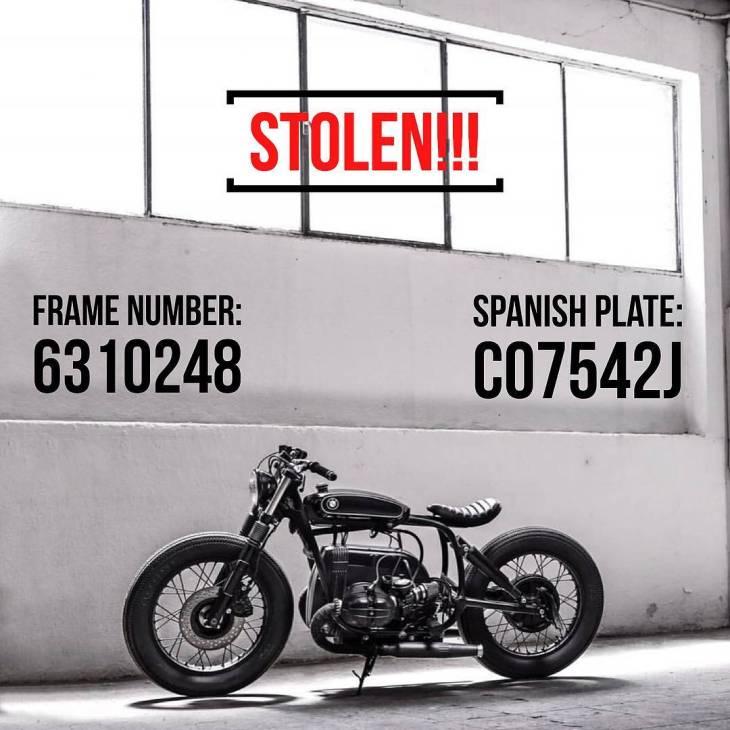 Attention rides!! Let's go to help with valid information to @caferacerdreams in this horrible moment… Good luck 🙏💪 . . . WE'VE BEEN STOLEN. Last night 8/2 someone came into our garage located in Paracuellos de Jarama, Madrid, Spain and took with them a total of 8 CRD bikes and a red Porsche 356. The whole team is in disbelief. We are asking for your help in this search. Any valid information will be HIGHLY REWARDED. Please make sure to contact us through DM if you know anything. These are bikes that were built uniquely and on the way to clients, so they are easy to identify. Please tag as many people as you can and repost to help us go viral. CRD is committed to getting them back and finding the people behind this. Thank you so much in advance from the whole team. (Link in bio) • NOS HAN ROBADO  Ayer día 8 de Febrero alguien entró en nuestro taller de Paracuellos del Jarama, provincia de Madrid, y robó 8 motos y un Porsche 356. Todavía no nos podemos creer que haya sucedido esto.Pedimos vuestra colaboración para solucionarlo. Se recompensará cualquier tipo de información que nos pueda ayudar. Por favor mandadnos un mensaje privado o un email si sabéis algo.Estas motos son únicas y fácilmente identificables. Ayudadnos a que esta noticia se vuelva viral compartiendo y etiquetando al mayor número posible de personas.Todo el equipo de CRD está decidido a recuperarlas y a encontrar a quien ha hecho esto. Os agradecemos enormemente vuestra colaboración. (Link en bio