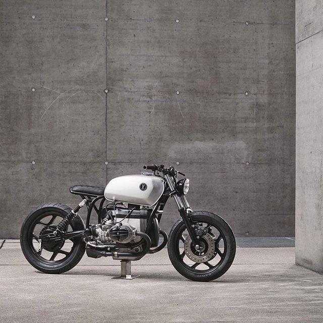 BMW R80 by @vagabund_moto 📷 @stefan_leitner 🖌 @pipeburn