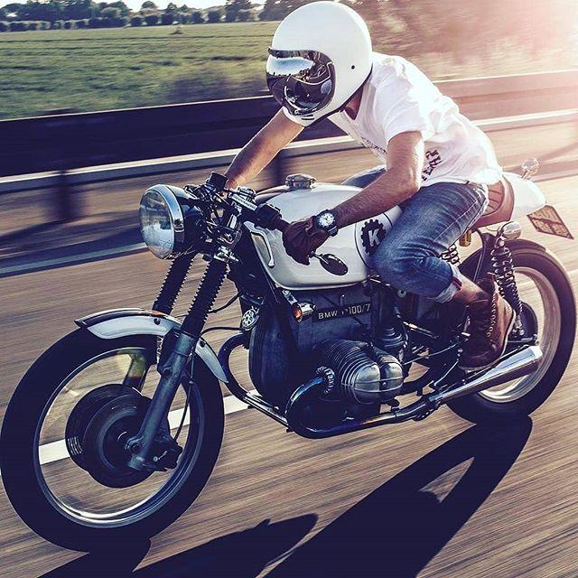 BMW R100 by @de_ranieri_simone