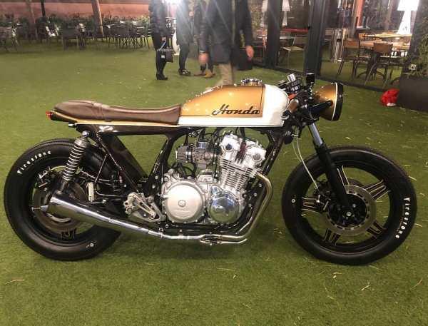 Honda CB 750 by  @mcafegarage