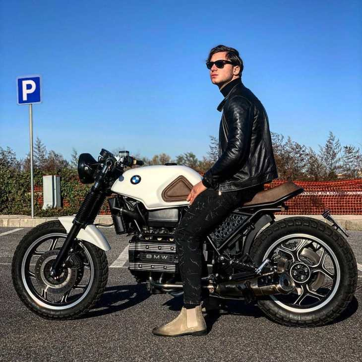 @alexgarage1 on his BMW K75