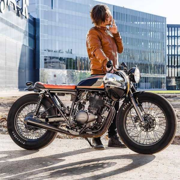 Honda CB 400 by @23000ml : @dimavinograd