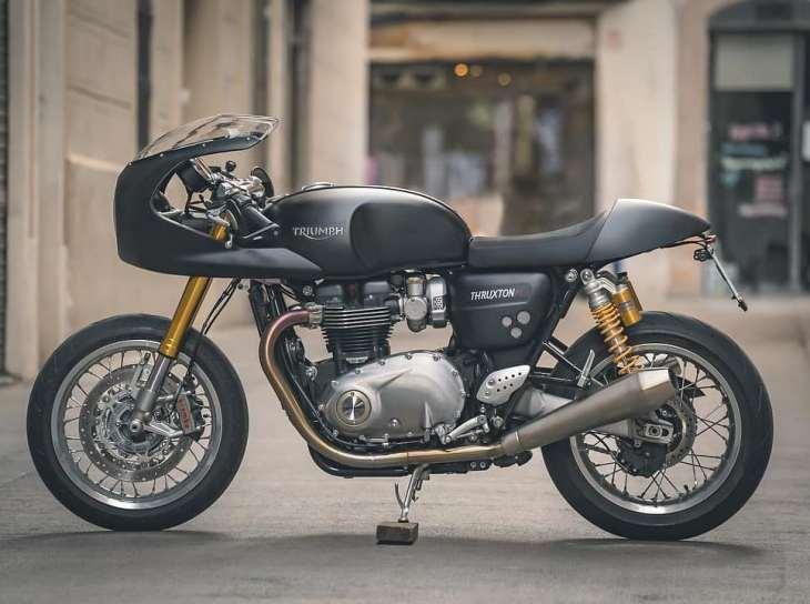 Triumph thruxton 1200R 📷 @xavi_dynamische / Owner: @livelike_javi_thewho