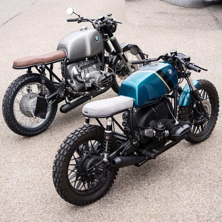 Left or Right? This indecision is by @crookedmotorcycles