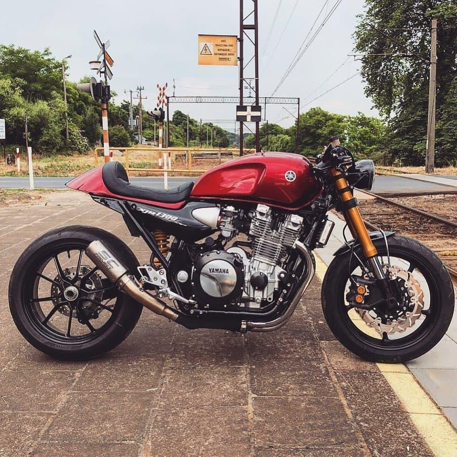 Yamaha XJR1300 by @dawidooo