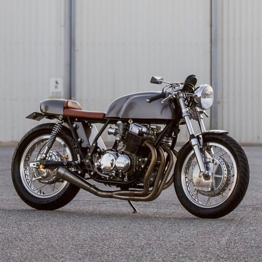 Honda CB750 by @retroandcustommotorcycles
