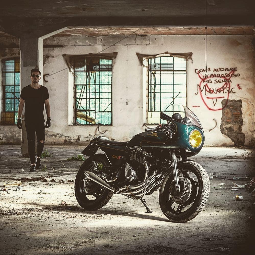 Honda CBX550 by @sereniluca