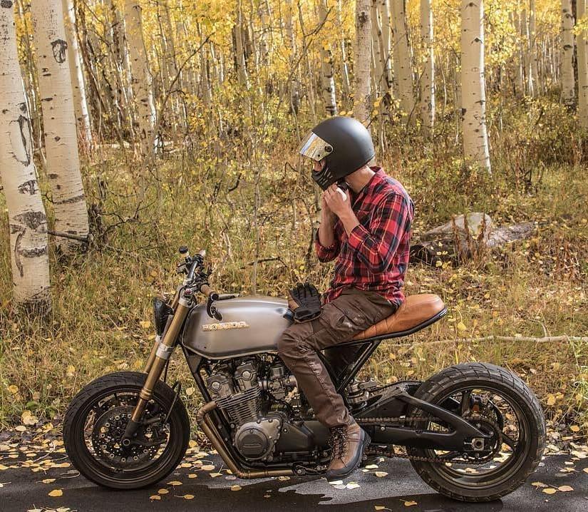 Honda CB750 by @ethan_rigby 📸 @nostalgia_memoir