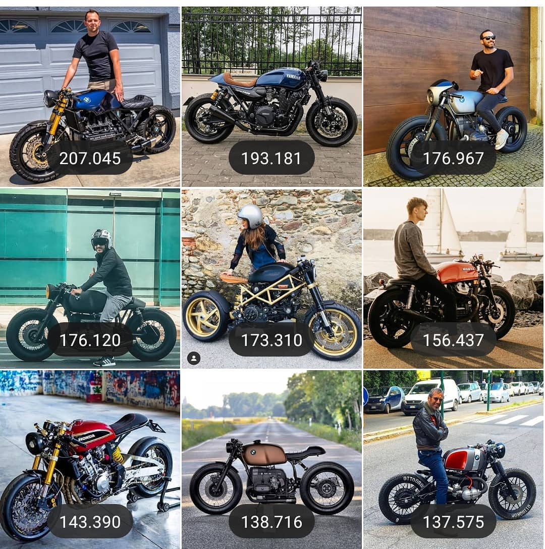The most viewed images of 2019 👏👏 … Happy new year and Thanks to everybody for share yours Cafe Racers and of course a big hug to all the for all the incredible pics!! / feliz año nuevo a todos y gracias por compartir vuestras cafe Racers … Y sobretodo a los fotógrafos por su increíble trabajo e imágenes que consiguen!! 🎉🎉🎊🏍️ . #2020
