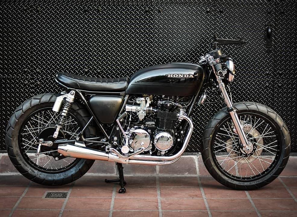 Honda CB550 Four Super Sport 1977 🛠️ @motorockersgarage 📷 @juani284