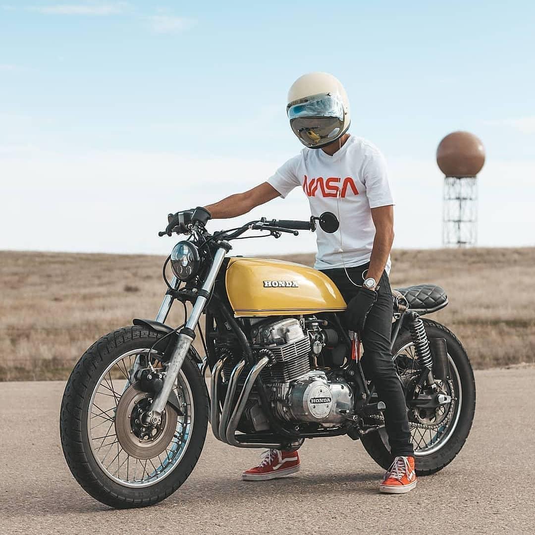 Honda CB750 by @moneebnain