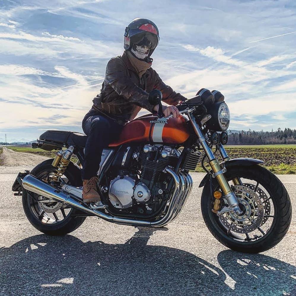 Honda CB1100 by @harris_m01